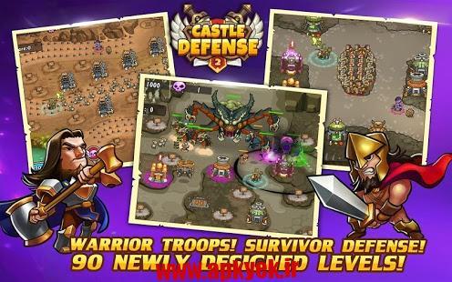 دانلود بازی دفاع از قلعه دو Castle Defense 2 1.4.6 اندروید