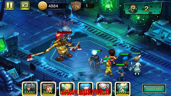 دانلود بازی زامبی های دیوانه Crazy Zombies 1.5 اندروید