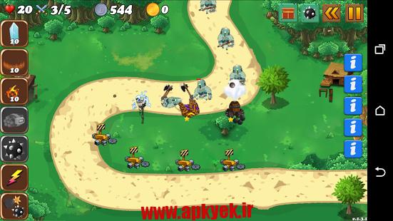 دانلود بازی دفاع از امپراتوری Defence of Empire 1.0 اندروید