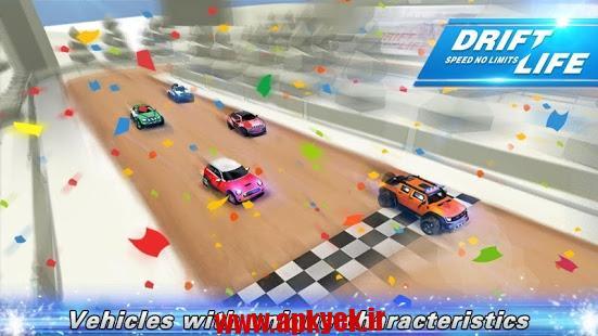 دانلود بازی ماشین بدون محدودیت Drift Life:Speed No Limits 1.0.1 اندروید