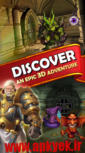 دانلود بازی Dungeon Monsters 1.5.475 اندروید مود شده