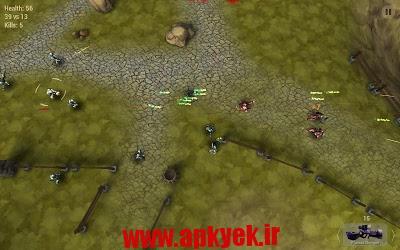 دانلود بازی جنگ مرزی Emancy: Borderline War 1.5.1 اندروید