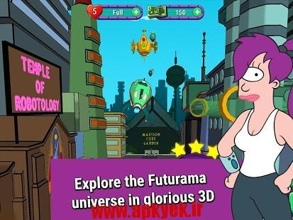 دانلود بازی فوتوراما Futurama: Game of Drones 0.5.0 اندروید