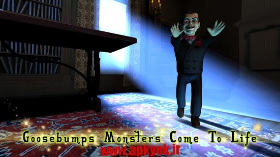 دانلود بازی تاریکی شب Goosebumps Night of Scares 1.1.0 اندروید