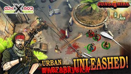 دانلود بازی چهارمین تفنگ Guns 4 Hire 1.5 اندروید مود شده