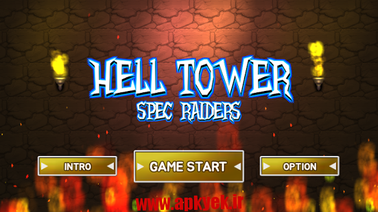 دانلود بازی برج جهنم Hell tower : Spec raiders 1.20 اندروید