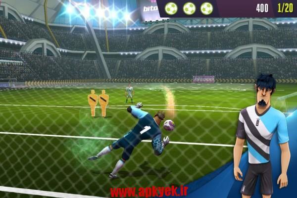 دانلود بازی ضربات آزاد Kicks!Football Warriors-Soccer 1.0.8 اندروید