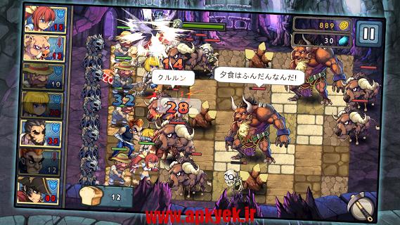 دانلود بازی جنگ افسانه ای دو Legend Wars 2 1.4.2 اندروید مود شده