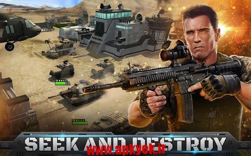 دانلود بازی سلاح جنگی Mobile Strike 3.09.101 اندروید