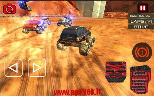 دانلود بازی ماشین هیولا Monster Truck Racing Ultimate 1 اندروید
