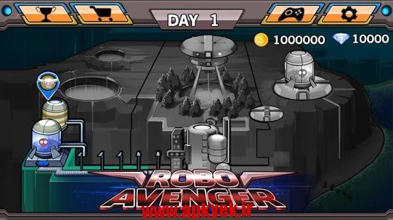 دانلود بازی اوانجر Robo Avenger 1.4.8 اندروید