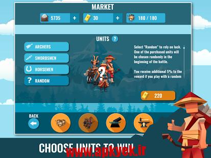 دانلود بازی سامورایی Samurai: War Game 1.0.0 اندروید