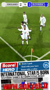 دانلود بازی قهرمان فوتبال Score! Hero 1.01 اندروید مود شده