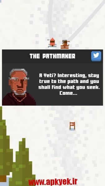 دانلود بازی Skiing Yeti Mountain 1.1.1 اندروید مود شده