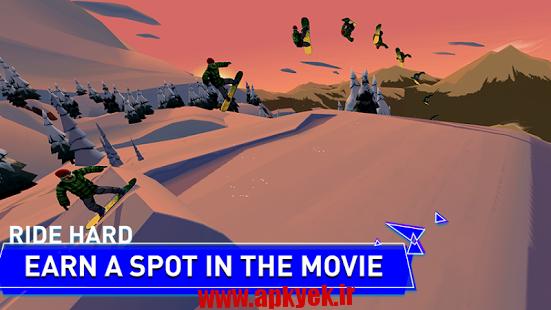 دانلود بازی افسانه اسنوبرد Snowboard Legend 1.0.2 اندروید