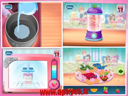 دانلود بازی توت فرنگی شیرین Strawberry Sweet Shop 1.5 اندروید