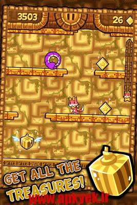 دانلود بازی شکار گنج Tappy Run 2 – A Treasure Hunt 1.2.9 اندروید