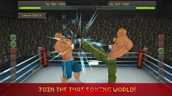 دانلود بازی بوکس تایلندی Thai Boxing League 1.1 اندروید