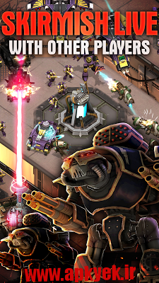 دانلود بازی The Horus Heresy: Drop Assault 1.2.0 اندروید مود شده