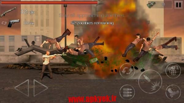 دانلود بازی اکشن زامبی The Zombie: Gundead 1.1.1 اندروید مود شده