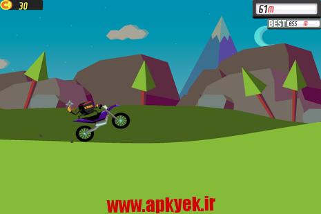 دانلود بازی دوچرخه کوچک دو Wheelie 2 1.0 اندروید