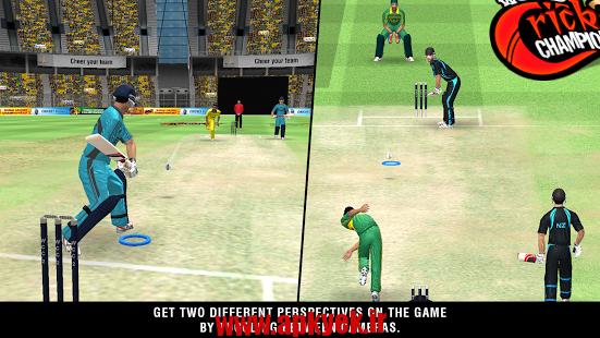 دانلود بازی مسابقات کریکت World Cricket Championship 2 1.2 اندروید