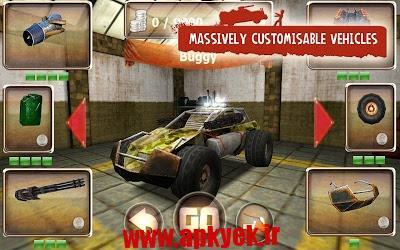 دانلود بازی ماشین زامبی Zombie Derby 1.1.30 اندروید
