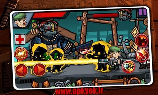 دانلود بازی زامبی جنگنده Zombie Fighter 1.0.3 اندروید مود شده