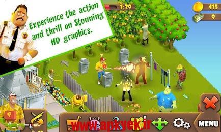 دانلود بازی زامبی لین Zombie Lane 1.0.33 اندروید