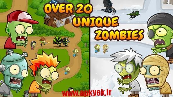 دانلود بازی تهاجم زامبی ها Zombie Wars: Invasion 1.0 اندروید