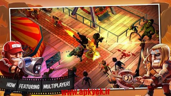 دانلود بازی زامبی وود Zombiewood – Zombies in L.A! 1.5.3 اندروید