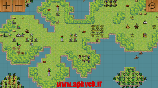 دانلود بازی مکان فانتزی Age of Fantasy 0.057b اندروید