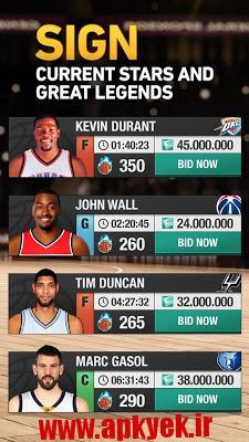 دانلود بازی مدیرت بسکتبال NBA General Manager 2016 3.00.006 اندروید