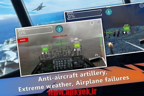 دانلود بازی فرود اضطراری WARZONE! Emergency Landing 1.0.0 اندروید