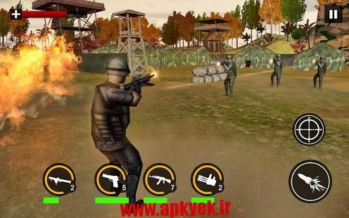 دانلود بازی کماندو مدرن Modern Commando Combat Shooter 1.0 اندروید