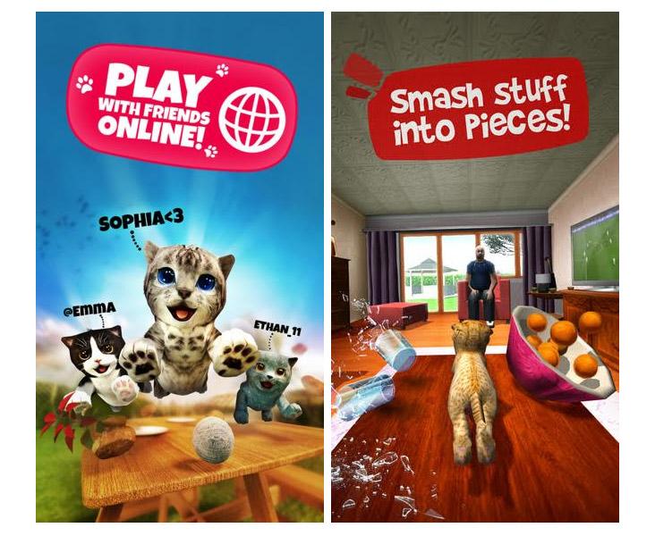 دانلود بازی شبیه ساز گربه Cat Simulation اندروید