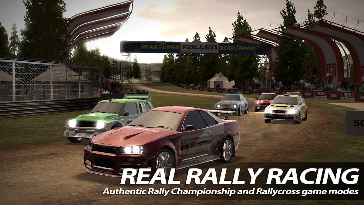 دانلود بازی راش رالی ۲ Rush Rally 2 v1.53 اندروید