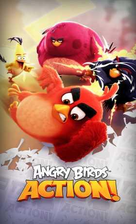 دانلود بازی پرندگام خشمگین اکشن Angry Birds Action v2.0.6 اندروید – همراه دیتا