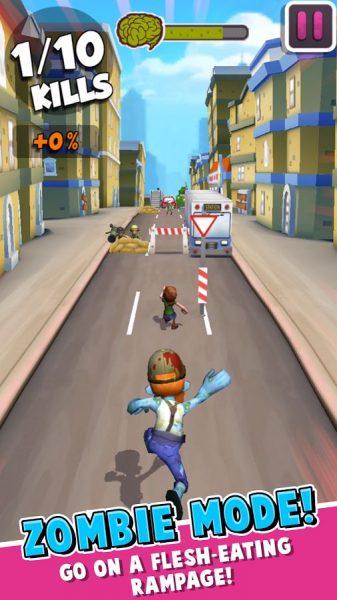 دانلود بازی ارواح شهر Undead City Run v0.1.2 اندروید + مود