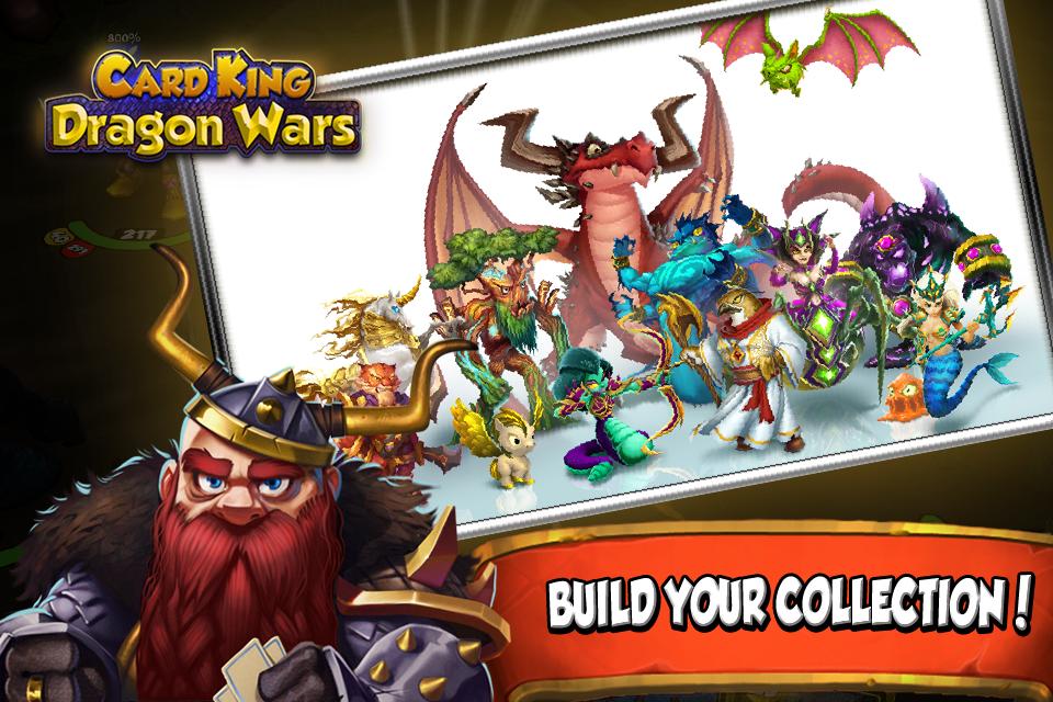 دانلود بازی کارتی پادشاه جنگ Card King: Dragon Wars 1.3.1 اندروید