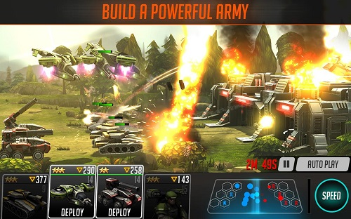 دانلود بازی جنگ مزدوران League of War: Mercenaries v5.5.57 اندروید