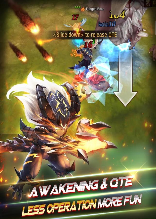 دانلود بازی نبردهای جهانی Lineage War – Global 3D RPG 0.12.92 اندروید