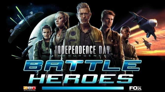 دانلود بازی نبرد قهرمانان Independence Day Resurgence – Battle Heroes اندروید
