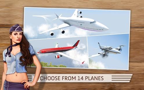 دانلود بازی پرواز خاموش Take Off The Flight Simulator v1.0.7 اندروید
