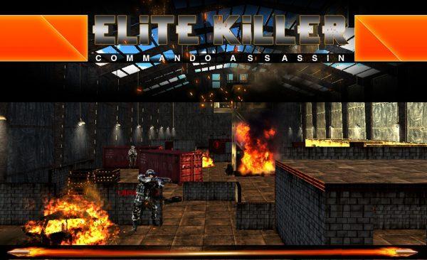 دانلود بازی تکاوران قاتل Elite Killer Commando Assassin 1.0.4 اندروید