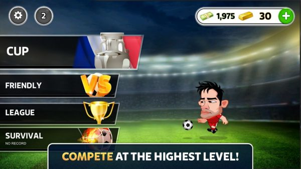 دانلود بازی یورو ۲۰۱۶ EURO 2016 Head Soccer v1.0.3 اندروید