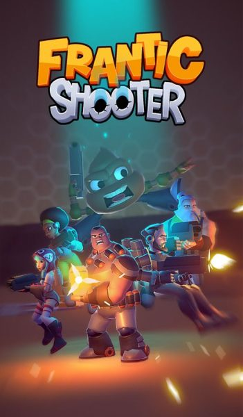 دانلود بازی فرانتیک شوتر Frantic Shooter v1.0 اندروید