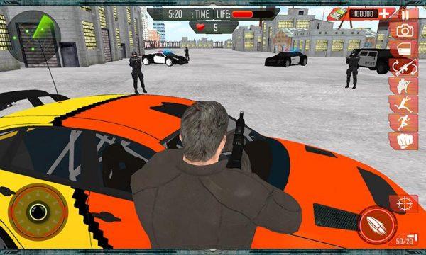دانلود بازی گرند چیس Grand Car Chase Auto Theft 3D v1.0.2 اندروید