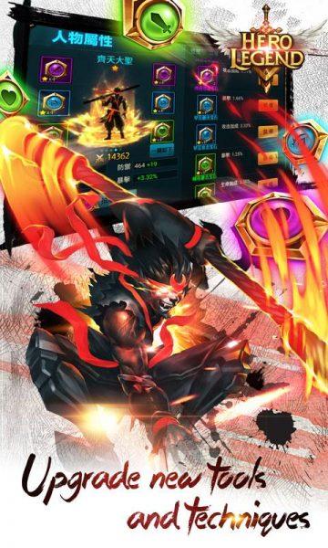 دانلود بازی افسانه قهرمان Hero Legend v2.4.1 اندروید