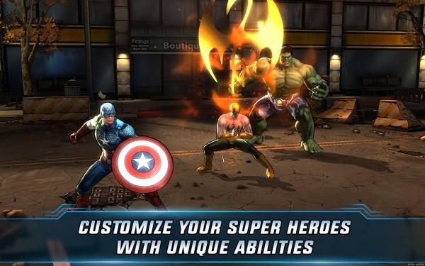 دانلود بازی اتحاد مارول دو Marvel: Avengers Alliance 2 v1.2.0 اندروید پول بی نهایت